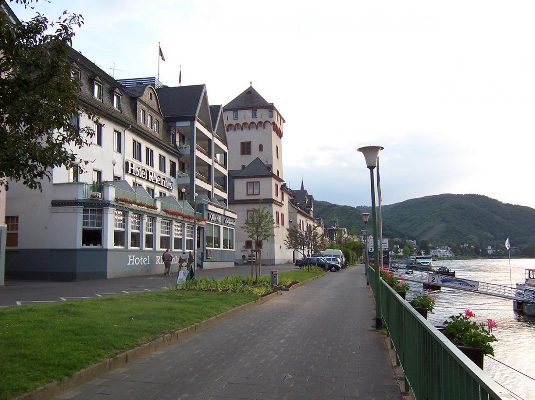 Hotel Rheinlust duitsland ligging