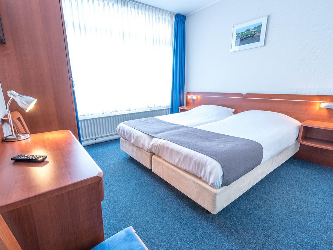 Hotelovernachting Pelikaan Texel Standaardkamer