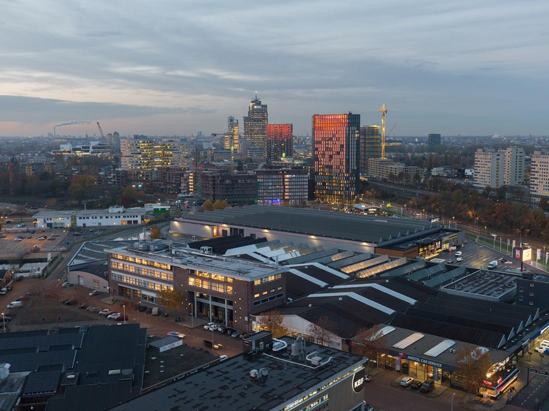 Uitzicht Postillion Amsterdam