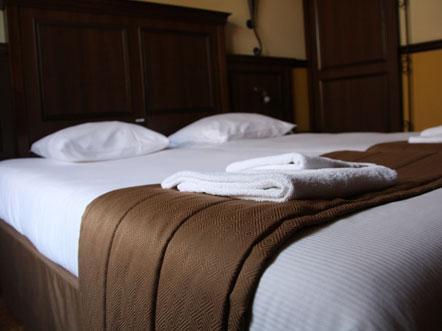 Hotel Abdij de Westerburcht Westerbork Drenthe Kamer