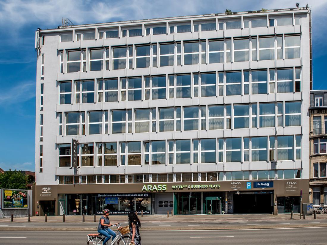 Arass Hotel Antwerpen Aanzicht Belgie Hotelaanbieding Buitenaanzicht