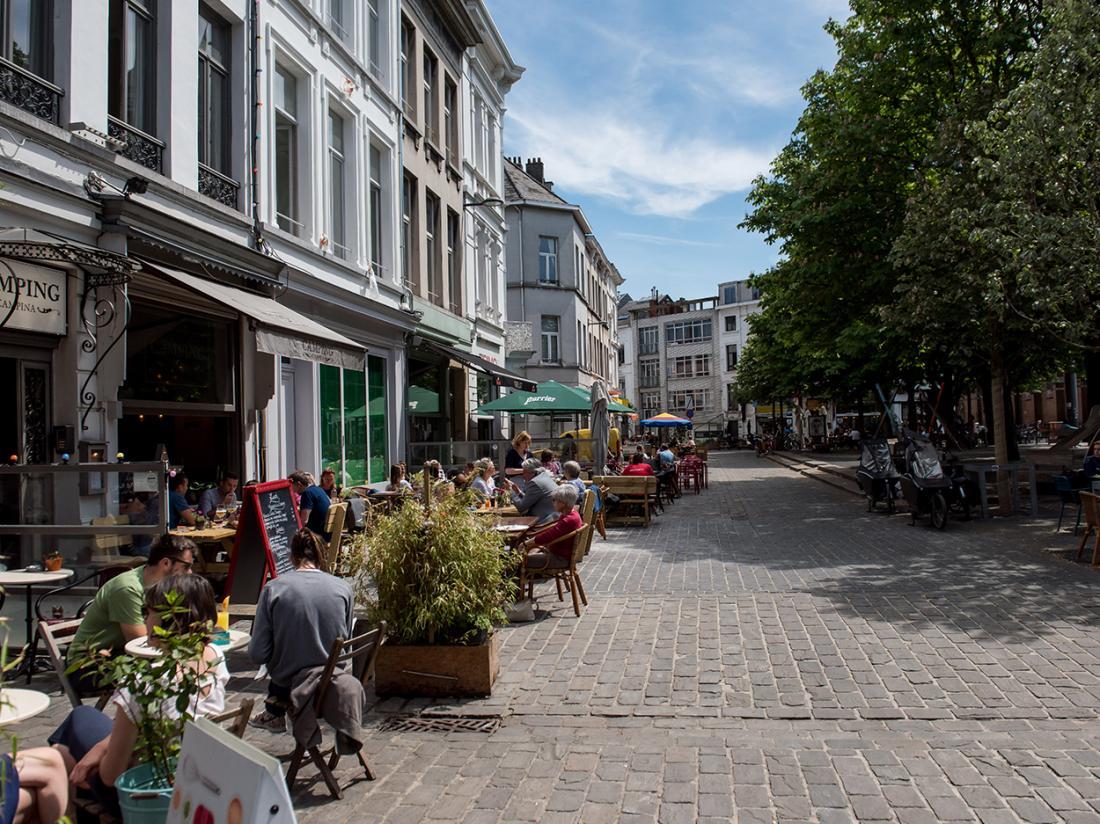 Arass Hotel Antwerpen Aanzicht Belgie Hotelaanbieding Omgeving