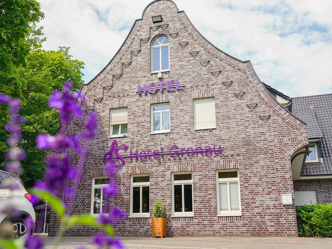 dS Hotel Gronau Duitsland Hotelaanbieding Buitenaanzicht