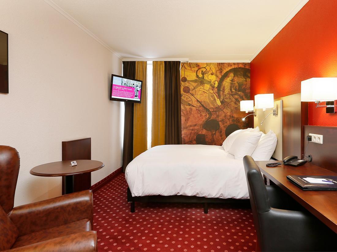 Golden Tulip Hotel Central Den Bosch Hotelkamer Extra Small Queensize
