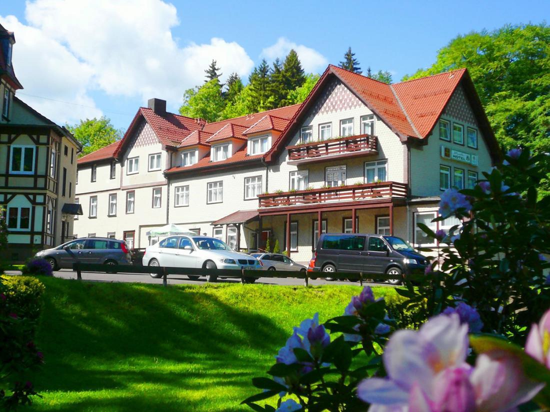 Waldhotel Friedrichroda Thringen Vooraanzicht