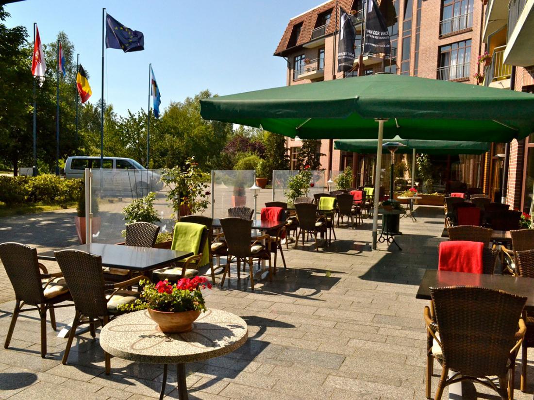 Van Der Valk Spreewald Parkhotel Terras