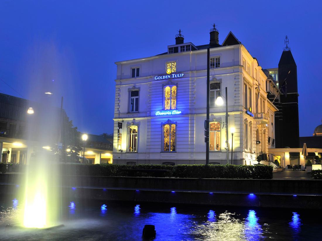 Golden Tulip West Ende Brabant Weekendjeweg Hotel exterieur aanzicht fontein