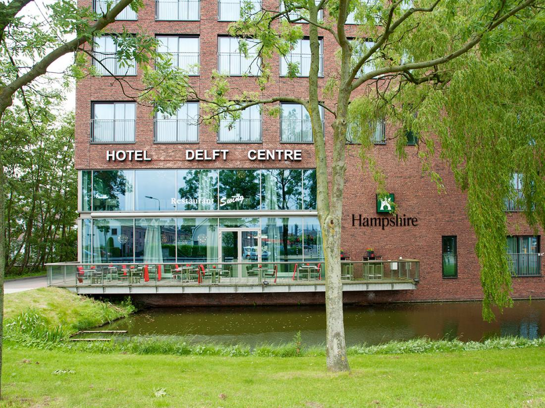Hotelaanbieding Delft Exterieur