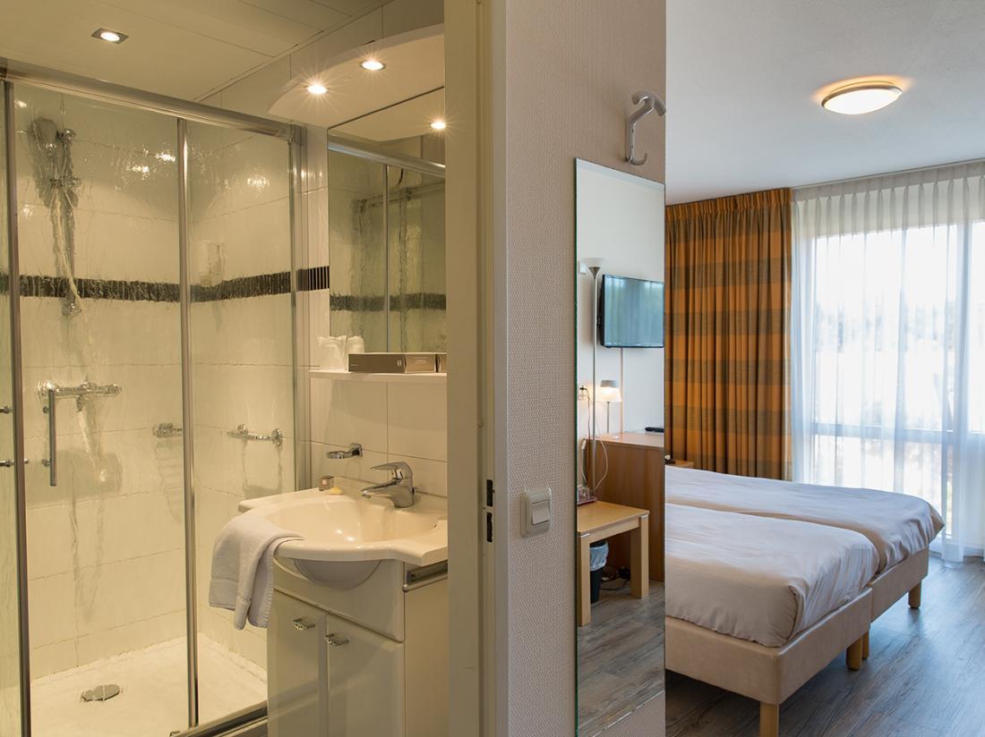 Weekendjeweg Zeeland Hotelkamer